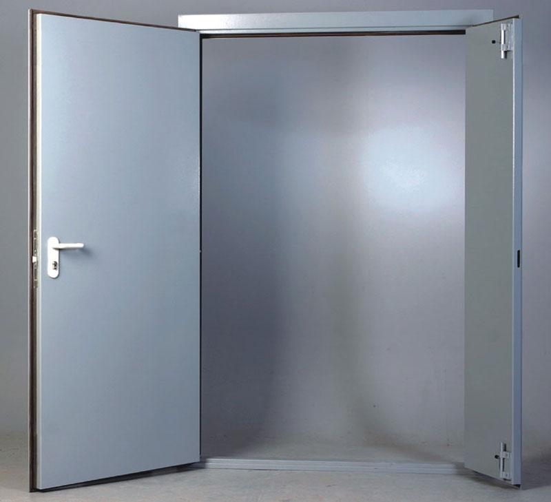 Дверь противопожарная двупольная ДМО-2 El-60