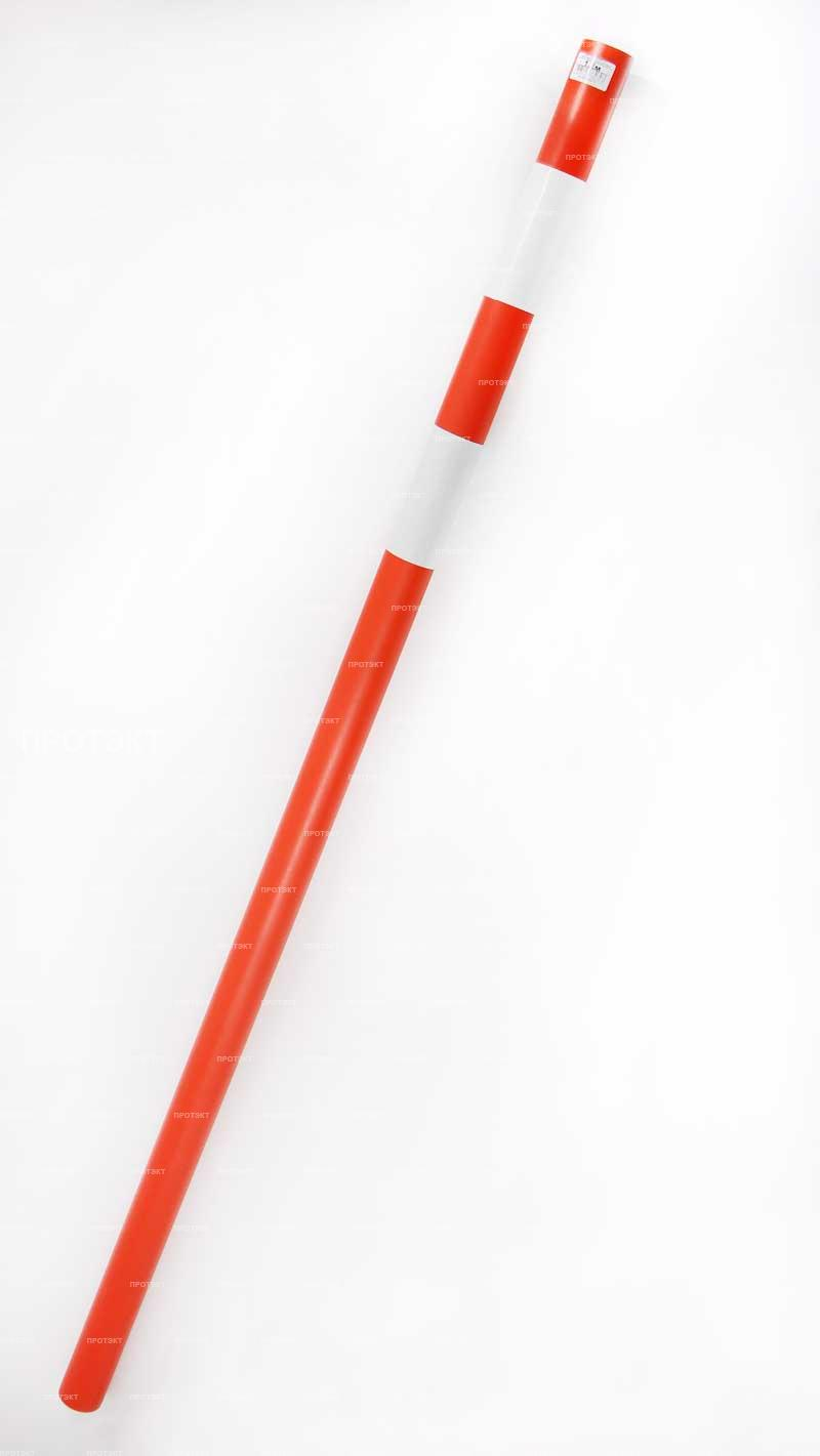 Веха пластиковая оранжевая 1,2м