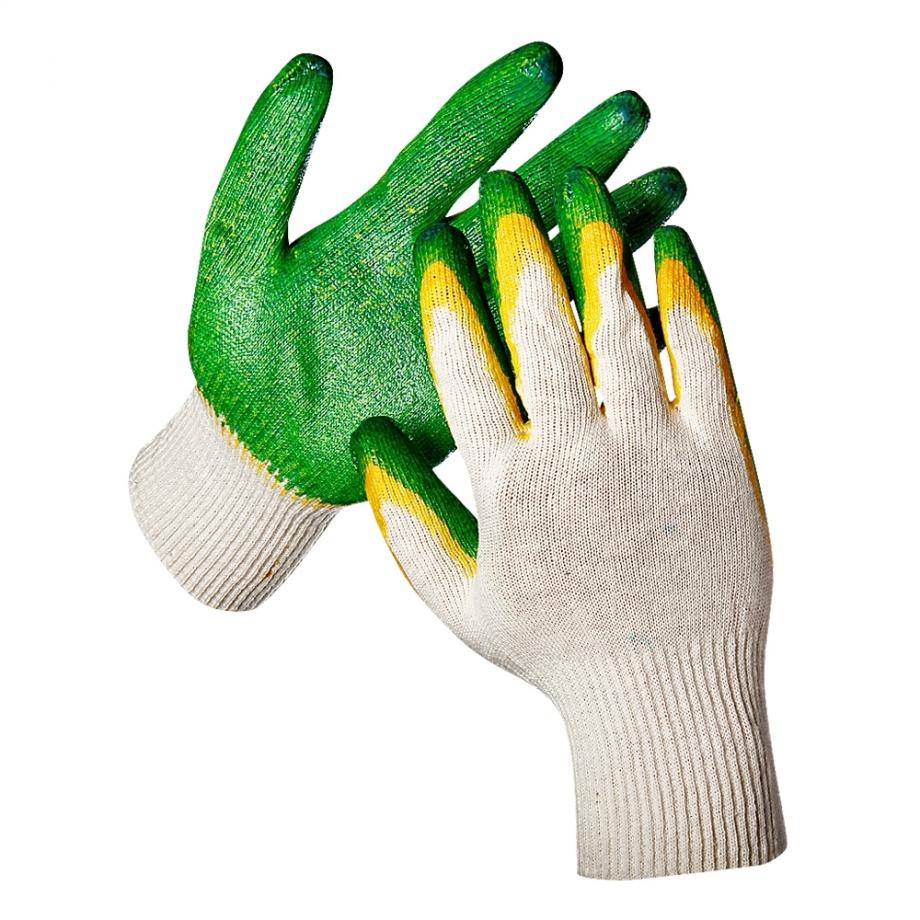 Перчатки защитные с ПВХ обливкой